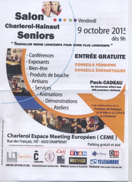 salon seniors 2015 -1 - Charleroi